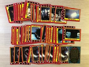 ALIEN Horror Movie trading cards Base set  single cards by Topps 1979