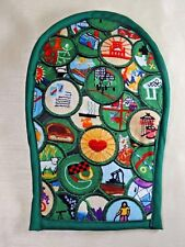 Girl Scout Oven Mitt from patch theme fabric