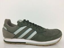 Adidas 8k Verde Textil Deportes Tenis Trainer B44702 Hombre Talla Reino Unido 11 EUR 46