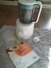 Philips Avent 2-in-1 Steamer Blender Healthy Baby Food Maker Blender