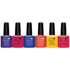 CND Shellac New Wave Collection Spring 2017 Gel Polish Set of 6