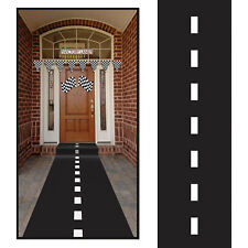 RACETRACK RUNNER Floor Walkway Highway Race Cars Nascar Birthday Party Decoratio