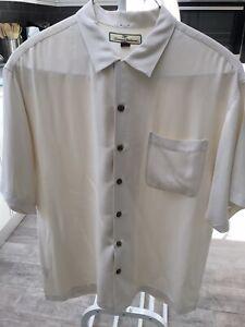 Tommy Bahama Camp Shirt Large
