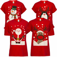 Mens Womens Adults Unisex Novelty Christmas Xmas T-shirt Top Tee Festive Gift