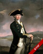 ADMIRAL HORATIO NELSON YOUNG PORTRAIT PAINTING BRITISH NAVY ART CANVAS PRINT