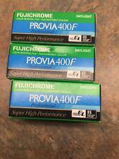 3 Rolls Fujichrome Provia 400F - RHP III 120 Film Refrigerated