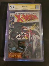 X-men 61 CGC 5.5 Roy Thomas Signature Series Second Appearance Of Sauron