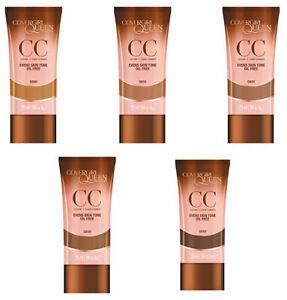 CoverGirl Queen CC Cream Oil-Free CHOOSE YOUR SHADE Q600 Q610 Q620 Q630 Q640