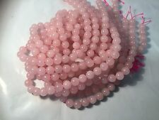 10mm Natural Rose Quartz Round Beads Oz Seller