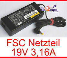 Alimentatore Power Supply FSC Lifebook e7110 e8000 e8010 s7010 t4010 19v 3,16a #n17
