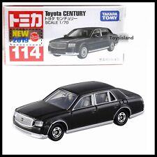 TOMICA 114 TOYOTA CENTURY 1/70 TOMY 2019 September New Diecast Car BLACK