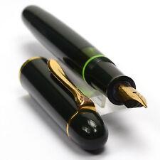 PELIKAN 140 Total DARK GREEN Vintage Fountain Pen 1950's F Nib GREAT DAILY USER