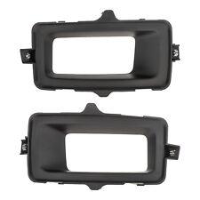 OEM Front Driver & Passenger Side Fog Light Bezel Trim 14-15 Silverado Sierra