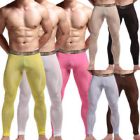 Mens Compression Long Trousers Base Layer Running Tights Jogging Gym Sport Pants