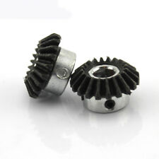2pcs 20T 8mm Metal Bevel Gear Right Angle Drive Gears Modulus 1 Model DIY