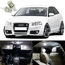 14 x Xenon White LED Interior Light Package Kit Deal For Audi A3 S3 2006 - 2013