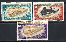 New Caledonia Sea Shell airmail set Sc.C58-60 mnh vf beautiful 33.00