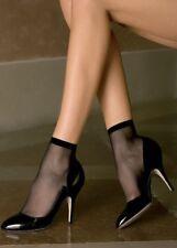 TRASPARENZE EMY Sheer Ankle Socks 2 Pairs Black