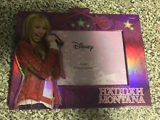 "Disney Hanna Montana Picture Frame 4"" x 6"" Photo Frame Miley Cyrus"