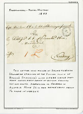 Slovakia Stamps Cover 1849 Forerunner Postal History
