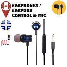 Earphone Headphone Headset In-ear Pure Mic&Volume Control for iPhone Samsung
