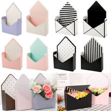 Romantic Envelope Flower Paper Holder Box Bouquet Florist Packing Supply 8 Style