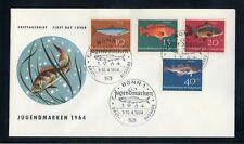 BUND Nr.412-415 SCHMUCK-FDC ESST BONN 10.4.1964 FISCHE ME 22,-++ (120173)