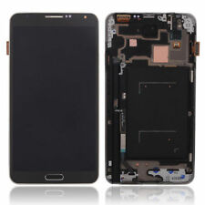 Gray Samsung Galaxy Note 3 N9005 LCD Touch Screen Digitizer Frame Assembly