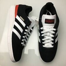 Adidas Busenitz Black Red Suede White Skate Skateboarding Shoes Men's NEW