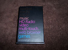Microsoft Zune HD 16 GB Black FM Radio Games WAV WMA MP3 Wi-Fi Media Player Mint