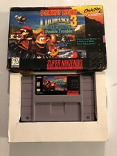 Donkey Kong Country 3 For The Super Nintendo Entertainment System Boxed VG