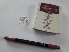 Stampin up ✿ Stempelkissen Himbeerrot + Maker ✿ Set Stift Rich Razzleberry TOP