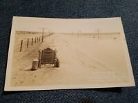 Vintage PHOTO POSTCARD CONTINENTAL DIVIDE LORDSBURG NEW MEXICO RPPC post card