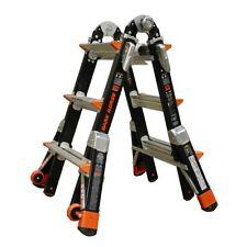 Little Giant Dark Horse Fibreglass Multi Purpose Ladder 3 Rung 1303-125