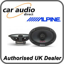 "ALPINE SPG-69c2 6x9"" 300W 2 Way Car Radio Stereo Audio Speakers Door Shelf New"