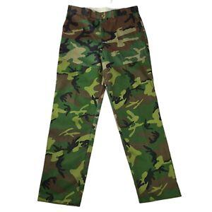 Cabelas Mens Bush Pants Relaxed Fit Size 36 Woodland Unhemmed