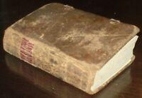 1848, PHILADELPHIA IMPRINT, GERMAN NEW TESTAMENT, PA DUTCH, LEATHER WITH CLASPS