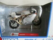 Motos miniatures gris Ducati