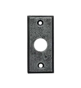 Bell Push Pewter Plate Door Bell Push Plate