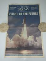 Florida Today Flight to the Future Space Shuttle Discovery Sept 1988 Newspaper