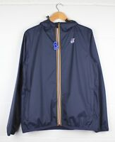 K-WAY LE-VRAI CLAUDE PACKABLE JACKET - BLUE DEPTH - RRP £75.00