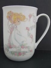 Delicate Porcelain Tea/Coffee Cup * Precious Moments * Lisa * 1993 Enesco