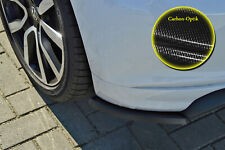 Rear approach spoiler corners Side panels made from ABS for VW Polo 6C R-Line Carbon Look