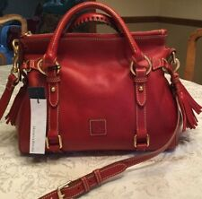 ❤️NWT, Dooney & Bourke Red Small Florentine Leather Satchel 8L98BRD, $368 ❤️