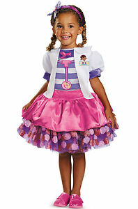 Disney Store Doc McStuffins Costume Tee Halloween organic purple sizes 2 3 4 NWT