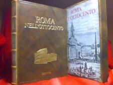 ROMA NELL' OTTOCENTO  - Editalia 1975- numerato - Mariano Vasi / Antonio Nibby