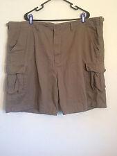 Cabelas Cargo Shorts, Size: Mens 48, 6 Pockets, Color: Earth Tone Green