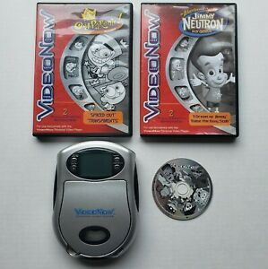 2003 Hasbro Video Now Personal Video Player Fairly w/ 3 Nickelodeon Discs Tested