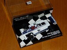 1/43 RARE Minichamps Brabham Ford BT49C Manfred Winkelhock Test Paul Ricard 1981