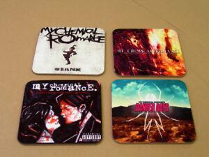 My Chemical Romance Album Cover COASTER Set
